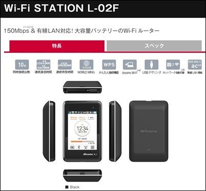 wifi-station L-02F