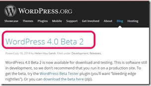 wordpress-v4.0beta2